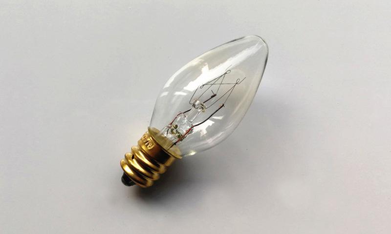 Colour Salt Lamp Bulb E12 Base For North American Market